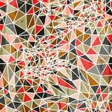 Vector abstract geometrisch naadloos patroon van Royalty-vrije Stock Foto