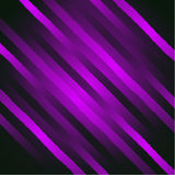 Vector abstract glamour background with diagonal lines and strips. Shiny violet backdrop. Royalty Free Stock Photos