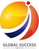 Global success symbol Royalty Free Stock Images