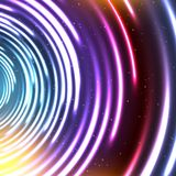 Vector abstract glowing background Royalty Free Stock Photo
