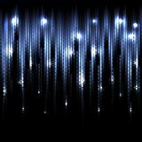 Vector abstract glowing background. Eps10. Vector abstract glowing blue background. Eps10 Royalty Free Stock Photos