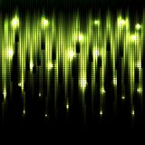 Vector abstract glowing background. Eps10. Vector abstract glowing green background. Eps10 Royalty Free Stock Photo