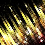 Vector abstract glowing background. Eps10 Stock Photo