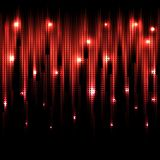 Vector abstract glowing background. Eps10. Vector abstract glowing red background. Eps10 Royalty Free Stock Images