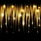 Vector abstract glowing background. Eps10 Stock Photos