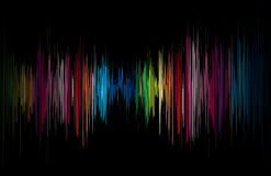 Vector abstract glowing music Stock Photo