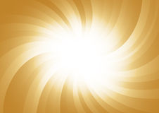 Vector abstract gold background Stock Photography