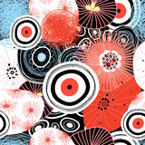 Vector abstract graphic pattern Stock Photos