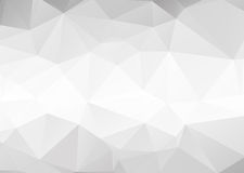 Vector abstract gray background. Vector abstract gray triangles background Royalty Free Stock Photos