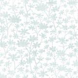 Vector abstract gray bush leaves textile seamless Royalty Free Stock Photos