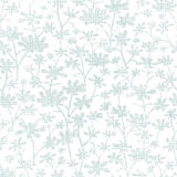 Vector abstract gray bush leaves textile seamless Royalty Free Stock Photos