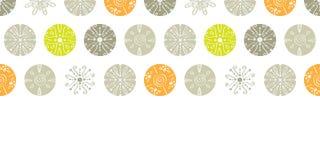 Vector abstract gray and green polka dot backgr Stock Photography