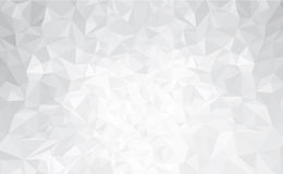 Free Vector Abstract Gray, Triangles Background. Royalty Free Stock Images - 52463539