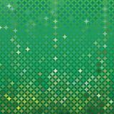 Vector abstract green detailed background. Abstract green vector detailed background with colorful elements, that look like stars or emeralds Royalty Free Stock Photo