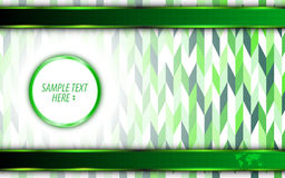 Vector abstract green eco technology innovation concept background Royalty Free Stock Image