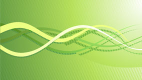 Vector abstract green hi-tech background Royalty Free Stock Photo
