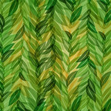 Vector abstract green leaves background Stock Photography