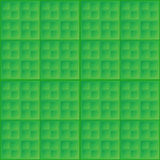 Vector abstract green seamless pattern - square ti Royalty Free Stock Image