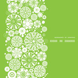 Vector abstract green and white circles vertical Stock Images
