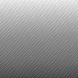 Vector abstract halftone black background. Gradient retro line pattern design.  Royalty Free Stock Image