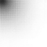 Vector abstract dotted halftone texture. Vector abstract halftone dots textured background. Pop art dotted gradient design element Stock Image