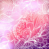 Vector abstract hand-drawn waves texture, wavy background. Blurr Royalty Free Stock Photography