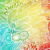Vector abstract hand-drawn waves texture, wavy background. Colorful waves backdrop Stock Photo
