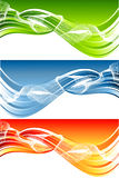 Vector abstract header Stock Photo