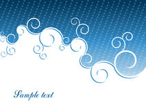 Vector abstract header Royalty Free Stock Photography