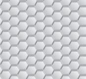 Vector abstract hexagon naadloos patroon Stock Foto's