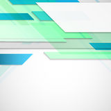 Vector abstract hi-tech background with empty elements for text Stock Photo