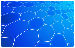 Vector abstract hi-technology background Royalty Free Stock Photography