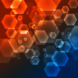 Vector abstract illustration Royalty Free Stock Photos