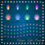 Vector abstract illustration of colorful lights on Stock Photo