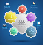 Vector abstract infographics. Stock Photo