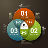 Vector abstract infographics Royalty Free Stock Images