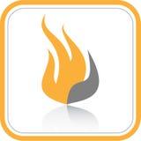 Vector abstract internet icon. Orange set. Simply change Stock Image