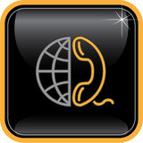Vector abstract internet icon Royalty Free Stock Photography