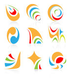 Vector abstract internet icons Royalty Free Stock Image