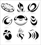 Vector abstract internet icons Stock Image