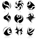 Vector abstract internet icons Royalty Free Stock Photography
