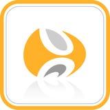 Vector abstract Internet-pictogram Stock Illustratie