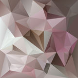 Vector abstract irregular polygon background triangle pattern in old pink, violet, gray and beige color Stock Photo