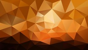 Vector irregular polygonal background - triangle low poly pattern - sunset landscape colored - orange, yellow, ochre,. Vector abstract irregular polygonal vector illustration