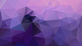 Vector irregular polygonal background triangle low poly pattern - ultra violet and lavender purple color vector illustration
