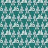 Vector abstract kleurrijk mozaïek naadloos patroon Royalty-vrije Stock Foto
