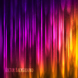 Vector abstract light background with shiny lines Stock Photography