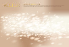 Vector abstract light beige background with silver sparkles, sequins. Stock Photos