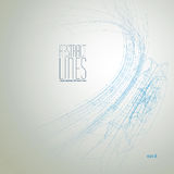 Vector abstract lines, clear eps 8 vector Stock Photo
