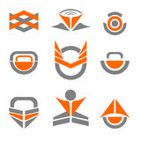 Vector Abstract Logo Icon Design Elements Royalty Free Stock Photography